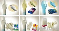 medical glove and exam glove