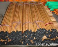 PVC wooden broom sticks handles (Eucalyptus type)