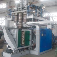 plastic blow moulding machine, 20- 200 liter, 3 layer