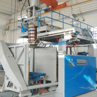 Blow moulding machinery, 1000 Liter, 1 Layer