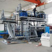 plastic Blow moulding machine, 1000 Liter, 2 Layer
