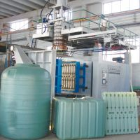 Blow moulding machinery, 2000 Liter, 1 Layer