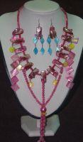 Sell fashion shell jewelry set