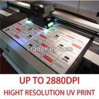 UV flat printed or screen printed on acrylic, corflute, foam board