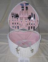 Sell heart shaped basket