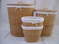 Sell willow laundry basket
