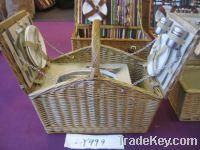 Sell wicker picnic basket