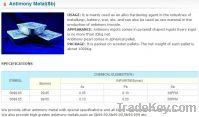 Sell Offer to Sell Antimony Ingot 99.65%, 99.85%, 99.90%