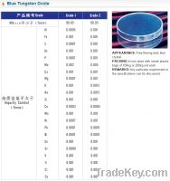 Offer to Sell Blue Tungsten Oxide (WO2 from 2.8 to 2.97)