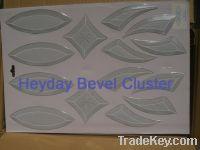 bevelled cluster selling...........