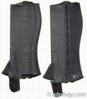 Cowhide Mild Leather Half Chap