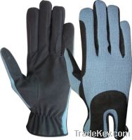 Amara and cotton riding gloves
