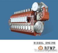 Sell German MTU 8000, MB833, MB837, MB838 gas generator, diesel engine