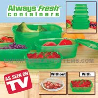 Sell Always fresh containers