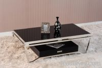 Sell Stainless Steel/Metalcoffee Table/Tempered Glass Top Coffee Table