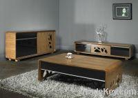 Sell modern wood veneer Coffee Table/End Table/Side Cabinet