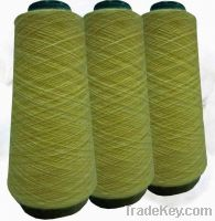 Sell polyester and rabbit hair blended yarn