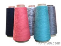 Sell cotton modal polyester sheep wool blended yarn (SCMTY4530-3004)