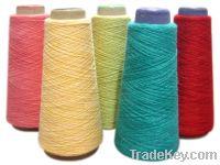 Sell viscose sheep wool milk fiber blended yarn (SRN'Y4245-0344)