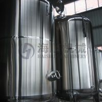 Sell side mixing tank