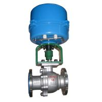 ZAJO Electric O Type Cutting-Off  Ball Valve