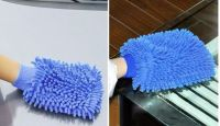 Sell Microfibre Car Cleaning Wash Mitt Glove Valeting Polishing Waxing