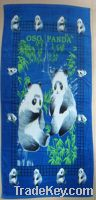 Sell Cotton Printed Velour Beach Towels