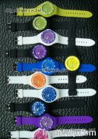 Band changeable watch, sport silicone watch
