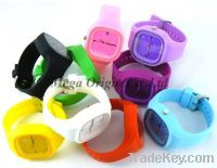 jelly silicone watch, silicon jelly watch