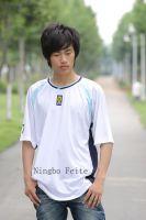Sell Football T-Shirts, football wear, sports wear FT137