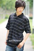 Sell mercerized t-shirts, mercerized golf shirts FT041