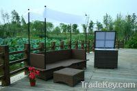 Sell FT-S3011 rattan wicker Sun Lounger Sun Lounger rattan furniture