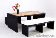 Sell outdoor rattan wicker Bar Furniture Set