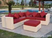 Sell Outdoor Rattan Furniture Wicker Sofa FT-S1003