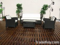 Sell Outdoor Rattan Furniture Wicker Sofa  FT-S1013