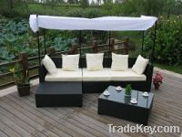 Sell Outdoor Rattan Furniture Wicker Sofa FT-S1020