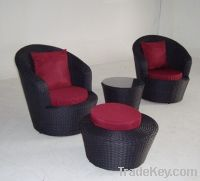 Sell Outdoor Rattan Furniture Wicker Sofa FT-120-2