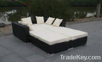 Sell outdoor wicker Lounger.Sun Lounger rattan furniture