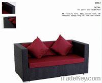 Sell 2392-2 Garden patio outdoor PE rattan furniture wicker sofa