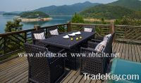 Sell FT2060 OUTDOOR WICKER DINING ROOM SET RATTAN TABLE AND CHAIR
