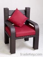 Sell outdoor rattan dinner chair dining wicker chair FT003