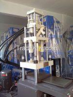 single shuttle table injection molding machine
