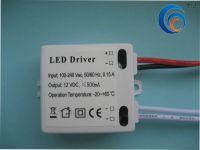 Sell LED ballast LED power LED transformer 12V 500MA GL-V01206PC