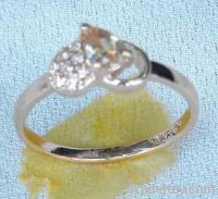 Sell cz silver ring