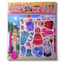 Dressy Model-Cinderella Magnetic Game