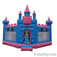 Sell Disney princess inflatable castle