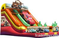 Sell Car movie inflatable slide