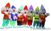 Sell Seven Dwarfs Mascot costume