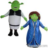 Sell Shrek and Fiona mascot costumes