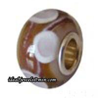Wholesale Pandora Murano Glass Beads IB-B 011